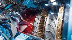 Двигатель АЛ-31Ф с лопатками