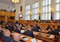 Заседание Областного совета Закарпатской области