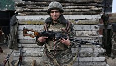 Армянский солдат. Архивное фото