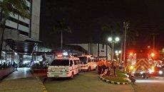 Автомобили скорой помощи в Колумбии. Архивное фото