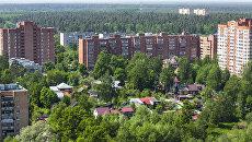Вид на город Пушкино