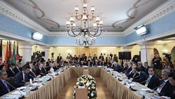Первое совещание спикеров парламентов стран Евразии
