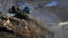 Военные учения на полигоне Клерк в Приморском крае. Архивное фото