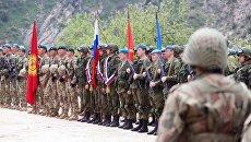Совместные учения подразделений военной разведки государств-членов ОДКБ. Архивное фото