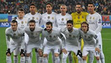 Футбол. Лига чемпионов. Реал (Мадрид)