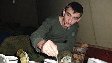 Старший лейтенант Александр Прохоренко. Архивное фото