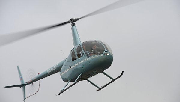 Военный вертолет совершил жесткую посадку вУэльсе