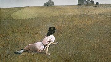 Картина Мир Кристины американского художника Эндрю Уайета 1948 года