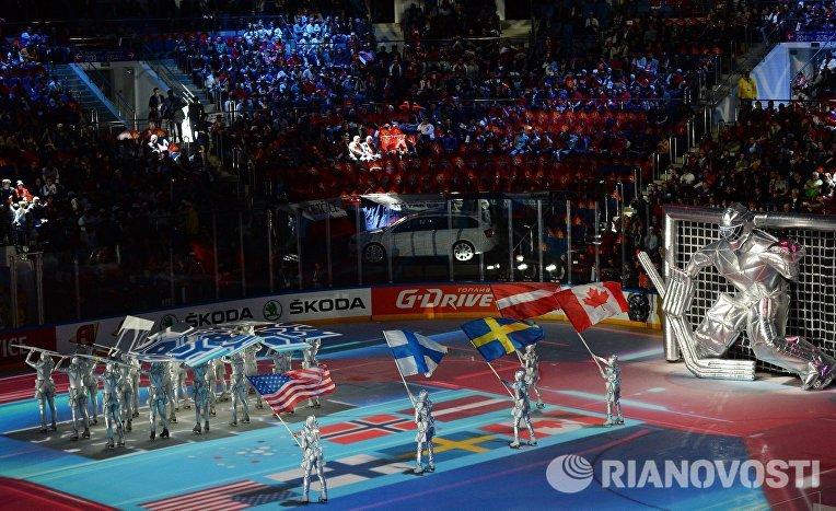 Хоккей. Чемпионат мира. Церемония открытия