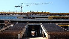 Строительство стадиона Самара Арена. Архивное фото