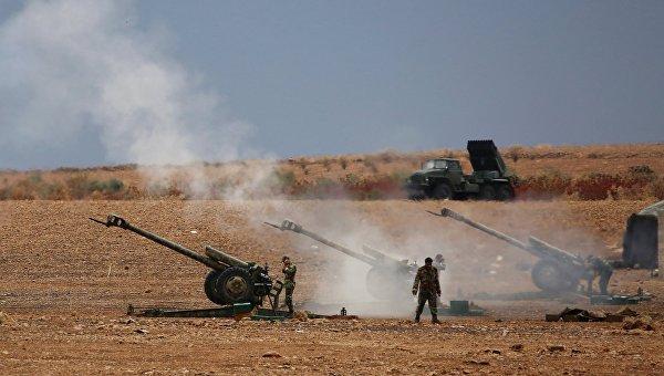 Военнослужащие сирийской армии. Архивное фото