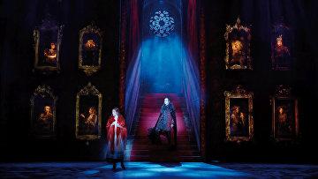Сцена из мюзикла Бал вампиров