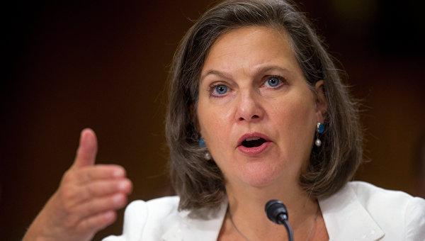Помощник госсекретаря США Виктория Нуланд. Архивное фото