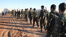 Демократические силы Сирии близ Ракки. Архивное фото