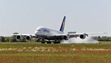 Самолет авиакомпании Lufthansa. Архивное фото