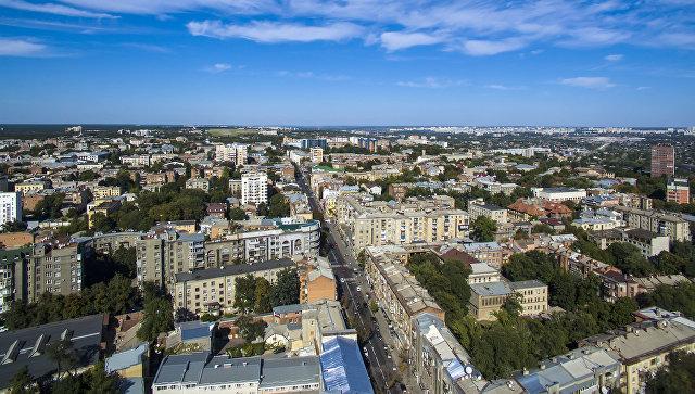 Панорама Харькова, Украина. Архивное фото
