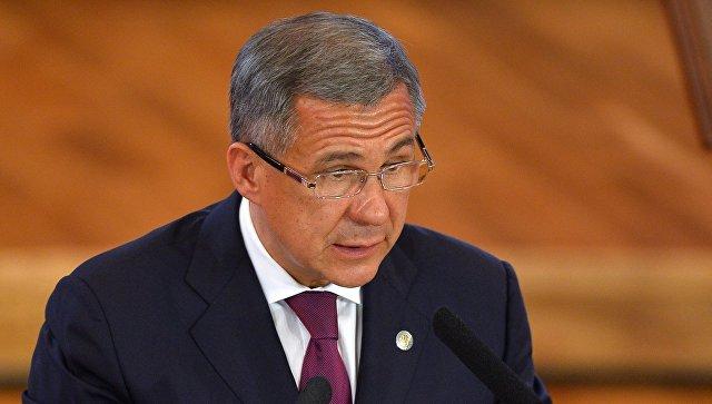 Минниханов объявил оросте заработной платы вТатарстане на25%