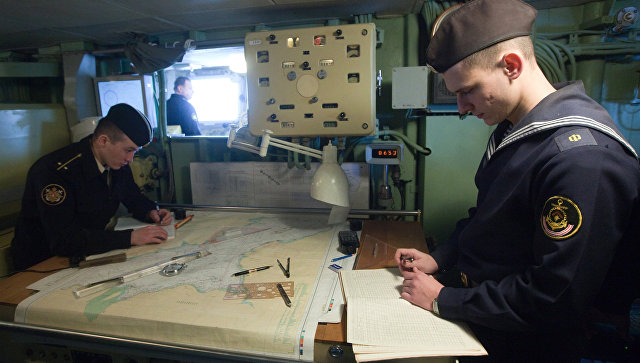 Отряд кораблей ВМФ РФ проведет учения вАрктике