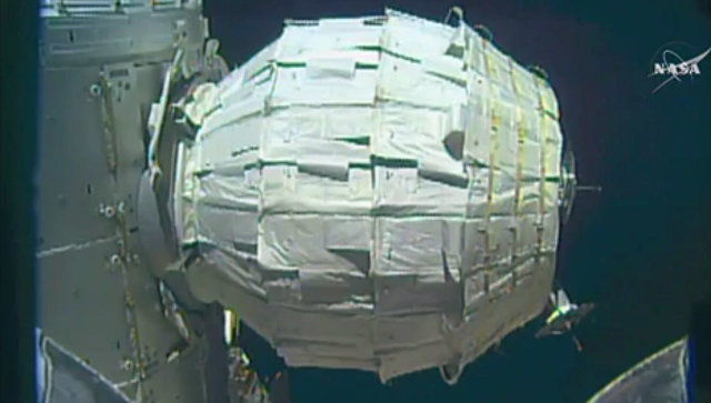 Надувной мобильный модуль BEAM на МКС