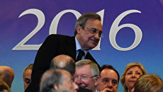 Президент футбольного клуба Реал Мадрид Флорентино Перес