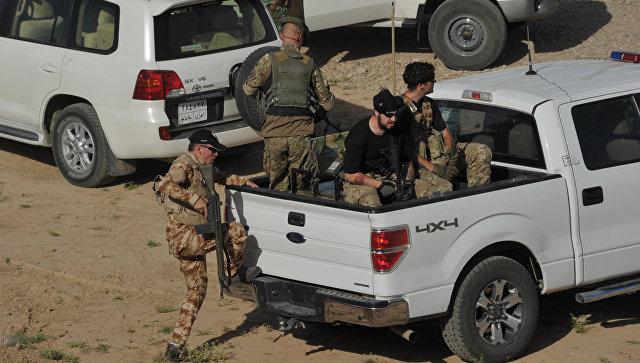 Бойцы 9-й бригады курдской пешмерга