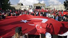 Турецкий флаг в Берлине. Архивное фото