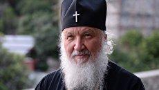 Патриарх Московский и всея Руси Кирилл на Афоне