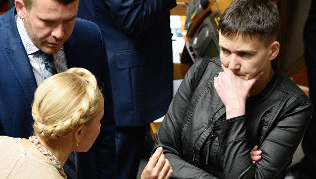 В Киеве опровергли идею о том, что Россия завербовала Савченко