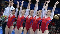 Спортивная гимнастика. Чемпионат Европы. Женщины. Командное первенство