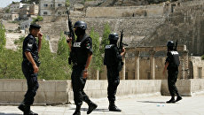 Сотрудники полиции Иордании. Архивное фото