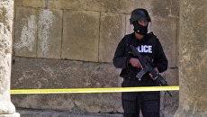 Сотрудник полиции в Иордании. Архивное фото