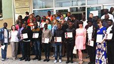 Иностранные студенты в России. Архивное фото