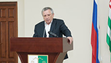 Премьер-министр Абхазии Артур Миквабия. Архивное фото