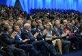 Рабочая поездка президента РФ В.Путина в Санкт-Петербург. День второй