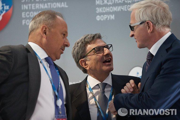 Деловой круглый стол Россия — Италия: историческая связь слишком важна для обеих стран, чтобы существовать друг без друга в рамках ПМЭФ 2015