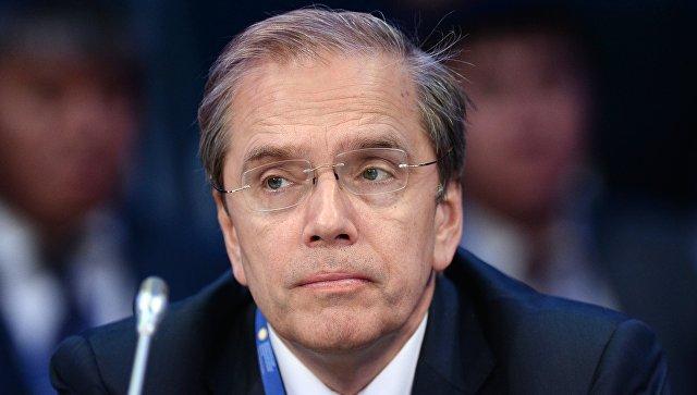 Председатель правления Евразийского банка развития Дмитрий Панкин. Архивное фото