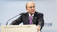 Глава Мюнхенской конференции Вольфганг Ишингер. Архивное фото