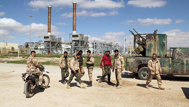 Российские военные принимают меры, чтобы не допустить выход ИГ* из Ракки