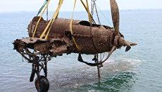 Штурмовик Ил-2 поднятый со дна Керченского пролива