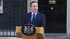 Премьер-министр Великобритании Дэвид Кэмерон заявил об отставке