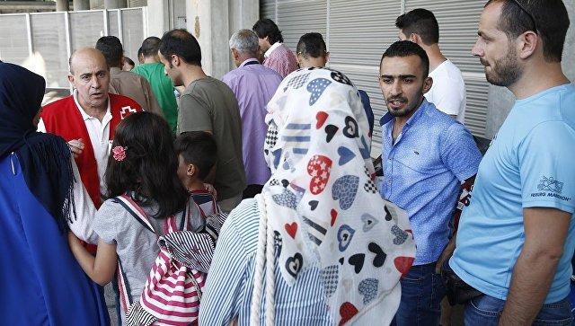 Беженцы в Испании. Архивное фото