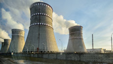 Атомная электростанция на Украине. Архивное фото