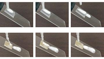 Материал, отталкивающий шампунь