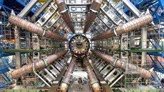 Установка калориметра ATLAS. Ноябрь 2005