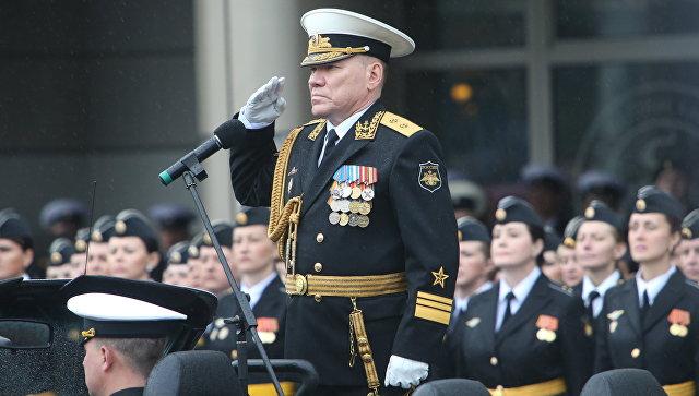 Командующий Балтийским флотом Виктор Кравчук. Архивное фото