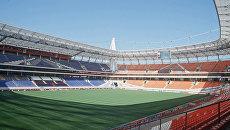 Стадион Локомотив. Архивное фото