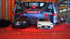Транспорт будущего, или Как выглядит надземный автобус в Китае