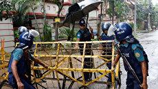 Сотрудники полиции Бангладеша