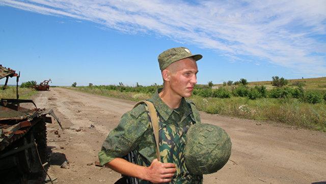 ВЛНР сказали, что силовики обстреляли изгранатомета поселок Желтое