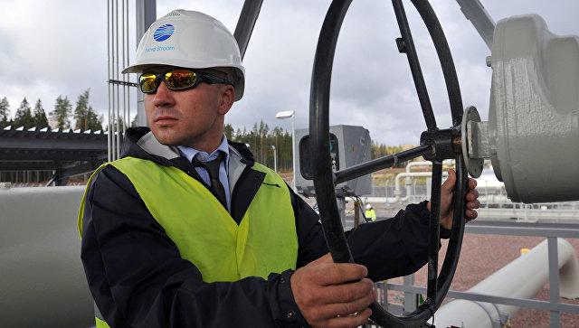 Пуск в эксплуатацию второй ветки газопровода Северный поток. Архивное фото.